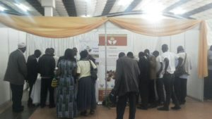 CURAD exhibition stall attracts attention