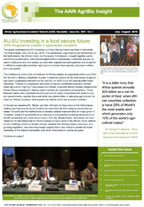 AAIN Newsletter July-August 2016 Edition